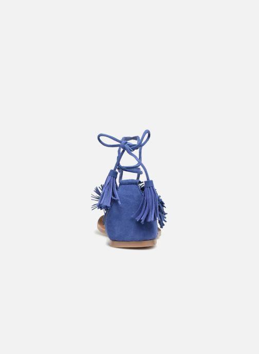 Sandales et nu-pieds I Love Shoes Kelipom Leather Bleu vue droite