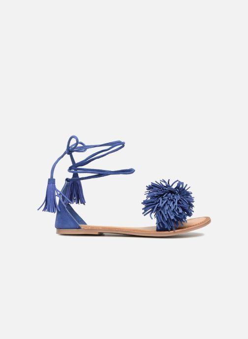 Sandali e scarpe aperte I Love Shoes Kelipom Leather Azzurro immagine posteriore