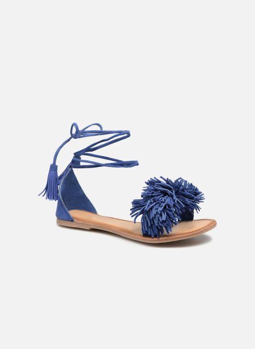 Sandales et nu-pieds I Love Shoes Kelipom Leather Bleu vue détail/paire