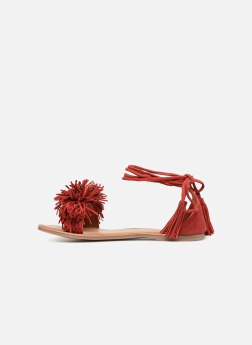 Sandales et nu-pieds I Love Shoes Kelipom Leather Rouge vue face