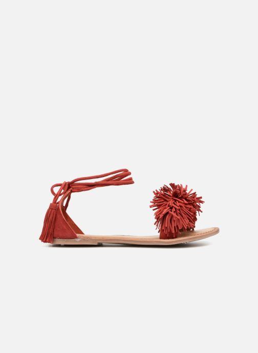 Sandales et nu-pieds I Love Shoes Kelipom Leather Rouge vue derrière