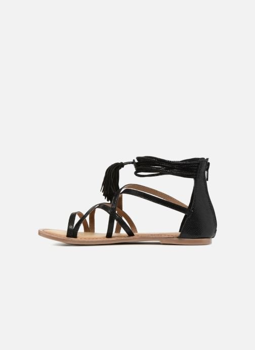Sandales et nu-pieds I Love Shoes Kemila Leather Noir vue face