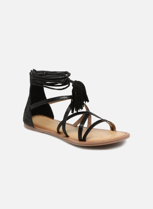 Sandalias I Love Shoes Kemila Leather Negro vista de detalle / par