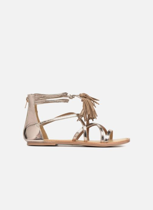Sandals I Love Shoes Kemila Leather Bronze and Gold back view