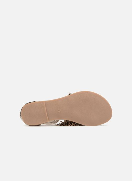 Sandales et nu-pieds I Love Shoes Kemila Leather Or et bronze vue haut