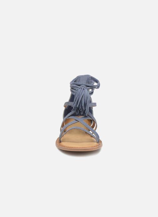 Sandales et nu-pieds I Love Shoes Kemila Leather Bleu vue portées chaussures