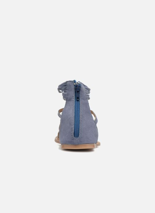 Sandales et nu-pieds I Love Shoes Kemila Leather Bleu vue droite