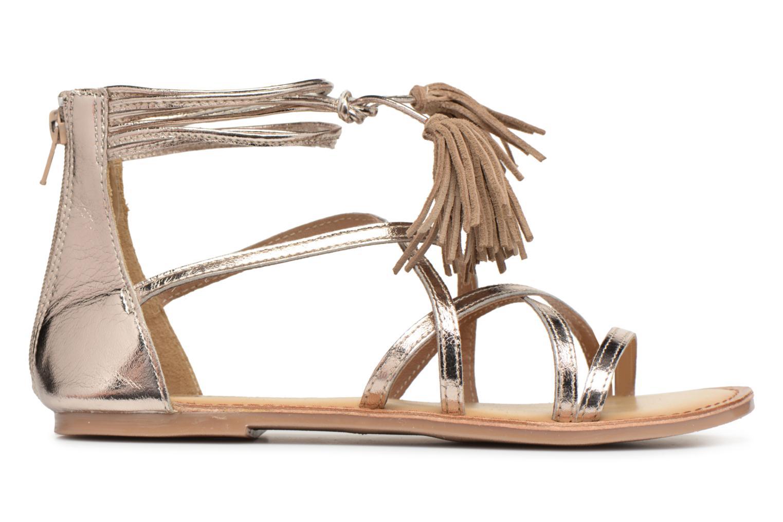 Sandali e scarpe aperte I Love Shoes Kemila Leather Oro e bronzo immagine posteriore