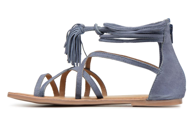 Sandales et nu-pieds I Love Shoes Kemila Leather Bleu vue face