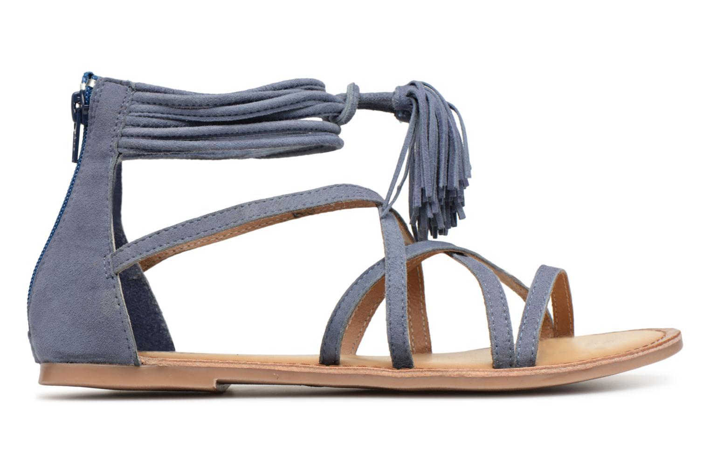 Sandales et nu-pieds I Love Shoes Kemila Leather Bleu vue derrière