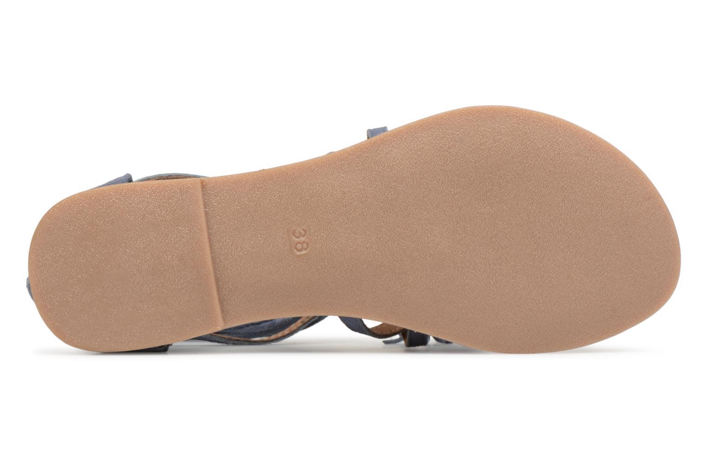 Sandales et nu-pieds I Love Shoes Kemila Leather Bleu vue haut