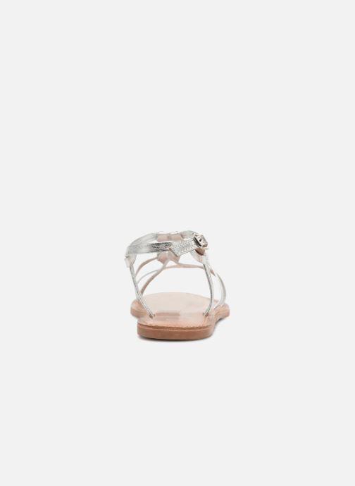 Sandales et nu-pieds I Love Shoes Kenania Leather Argent vue droite