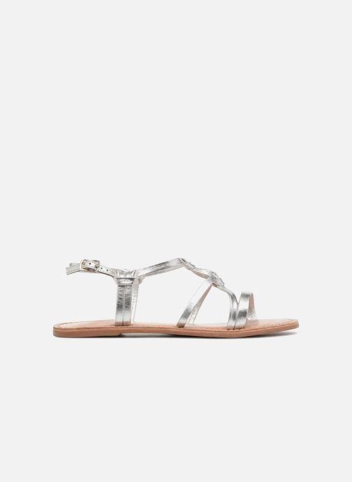 Sandalias I Love Shoes Kenania Leather Plateado vistra trasera