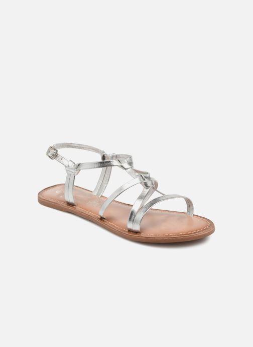 Sandalias I Love Shoes Kenania Leather Plateado vista de detalle / par