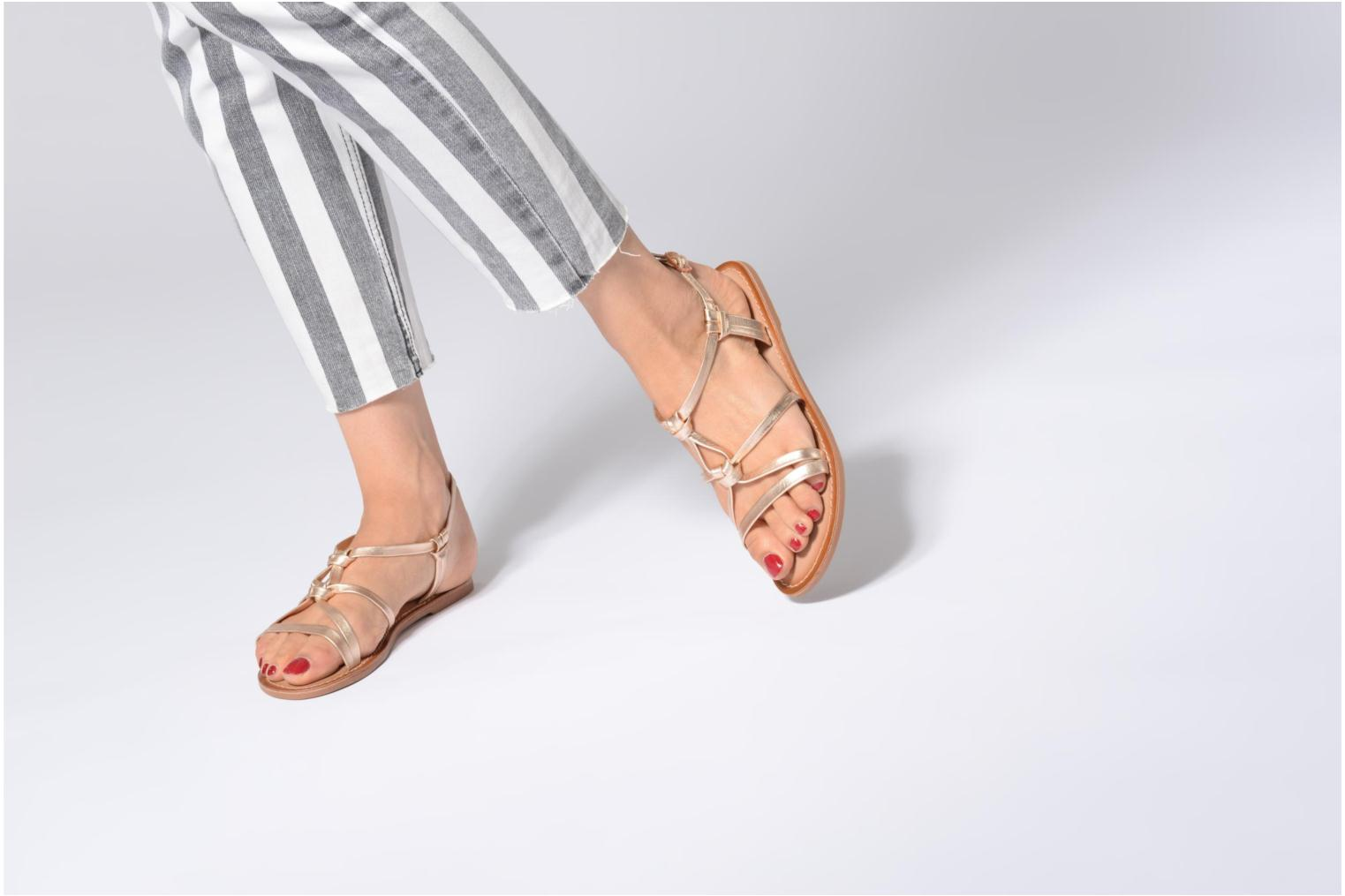 Sandalen I Love Shoes Kenania Leather Goud en brons onder