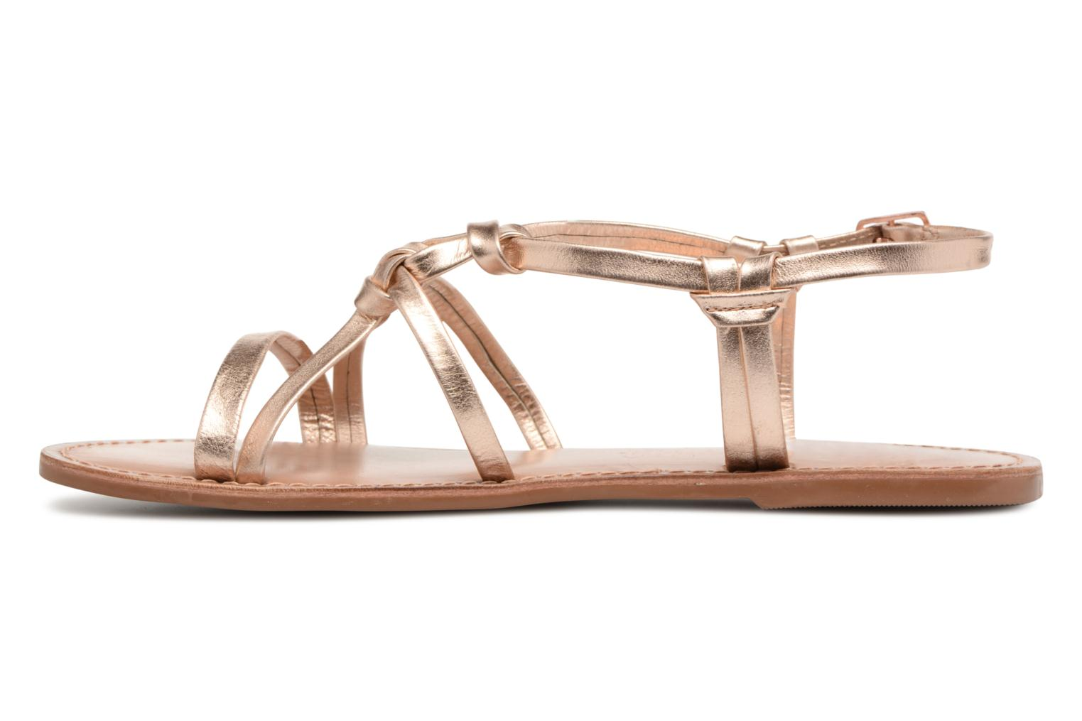 Sandalen I Love Shoes Kenania Leather Goud en brons voorkant
