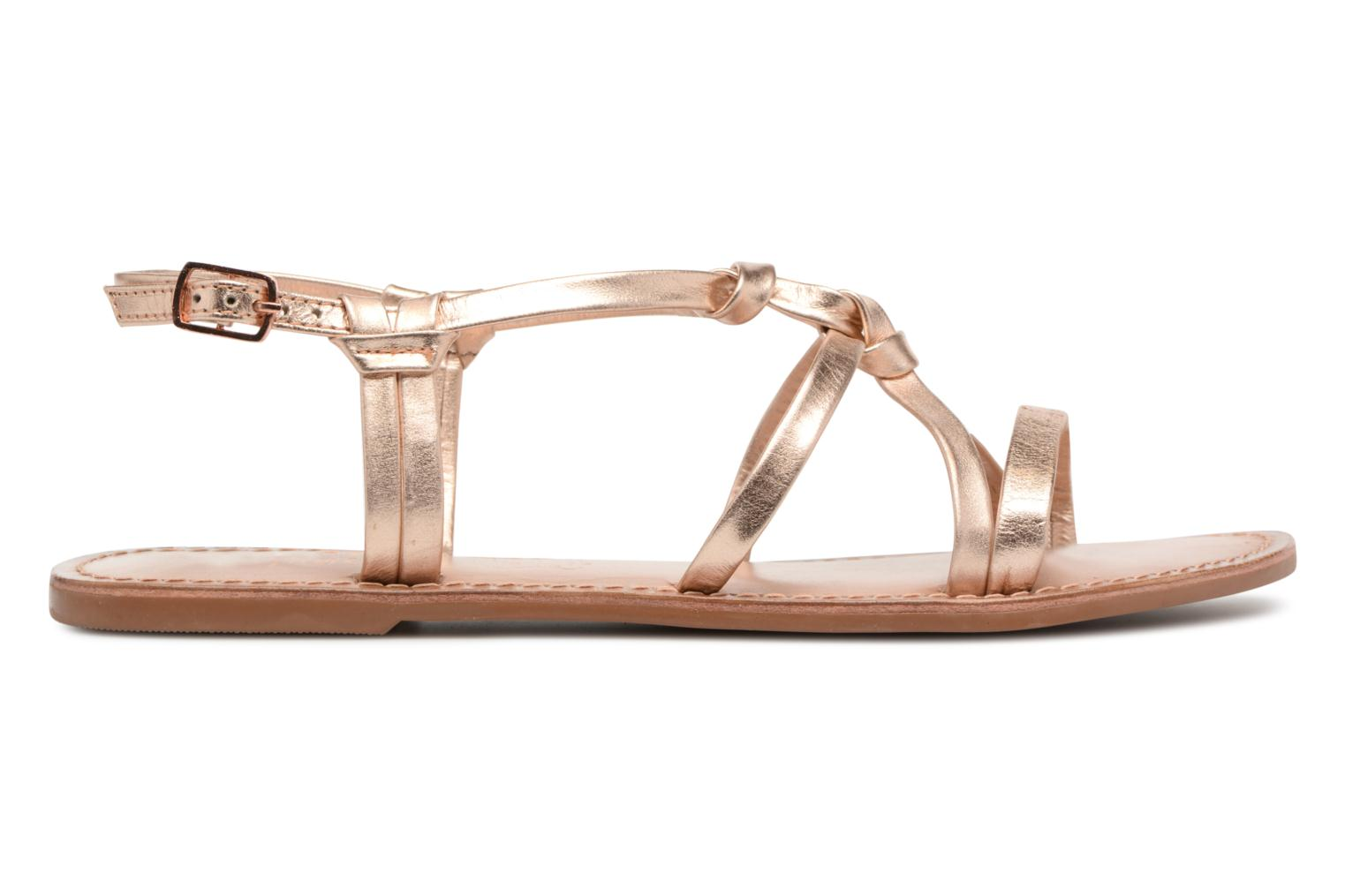 Sandalen I Love Shoes Kenania Leather Goud en brons achterkant