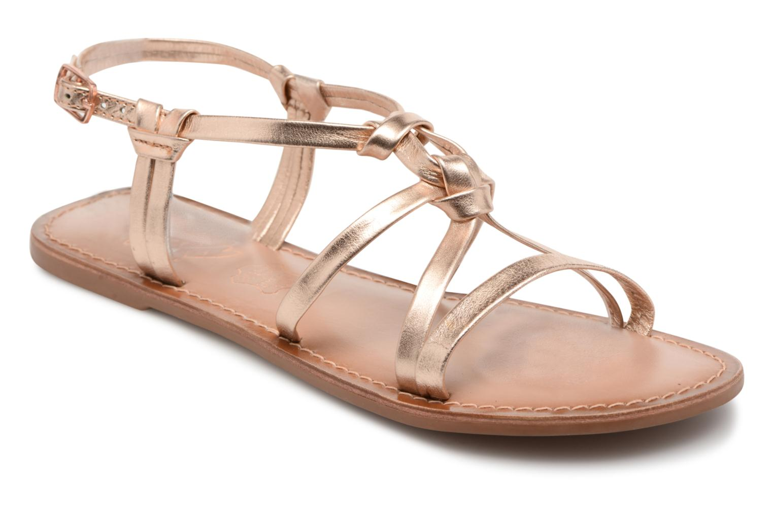 Sandalen I Love Shoes Kenania Leather Goud en brons detail