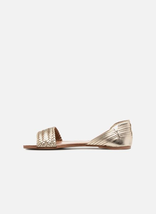 Sandalias I Love Shoes Kerina Leather Oro y bronce vista de frente