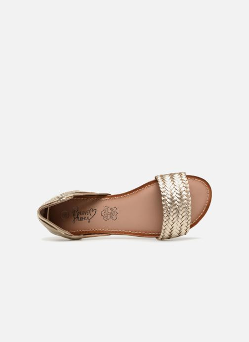 Sandalias I Love Shoes Kerina Leather Oro y bronce vista lateral izquierda