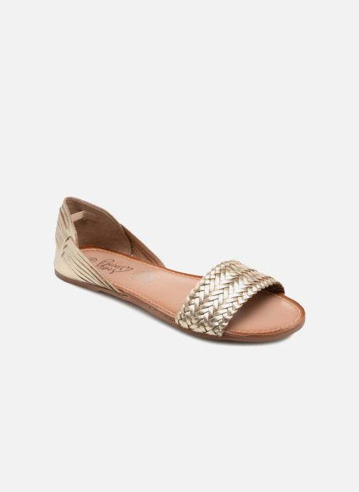 Sandales et nu-pieds I Love Shoes Kerina Leather Or et bronze vue détail/paire