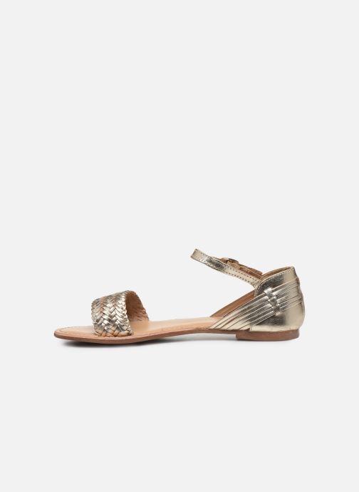Sandalias I Love Shoes Kerina Leather Oro y bronce vista de frente