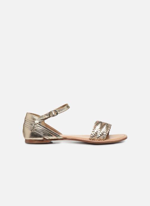 Sandales et nu-pieds I Love Shoes Kerina Leather Or et bronze vue derrière