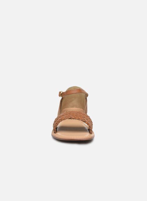 Sandali e scarpe aperte I Love Shoes Kerina Leather Marrone modello indossato