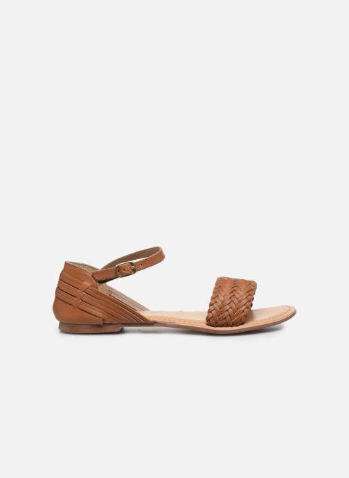 Sandales et nu-pieds I Love Shoes Kerina Leather Marron vue derrière
