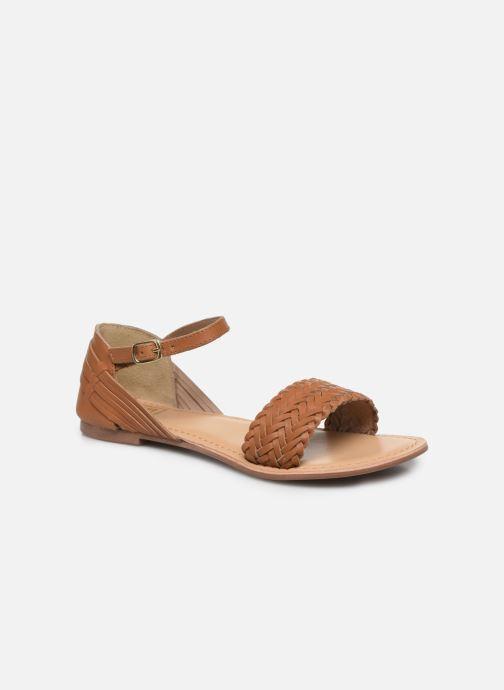 Sandali e scarpe aperte I Love Shoes Kerina Leather Marrone vedi dettaglio/paio
