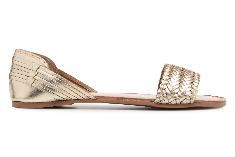Sandalen I Love Shoes Kerina Leather gold/bronze ansicht von hinten