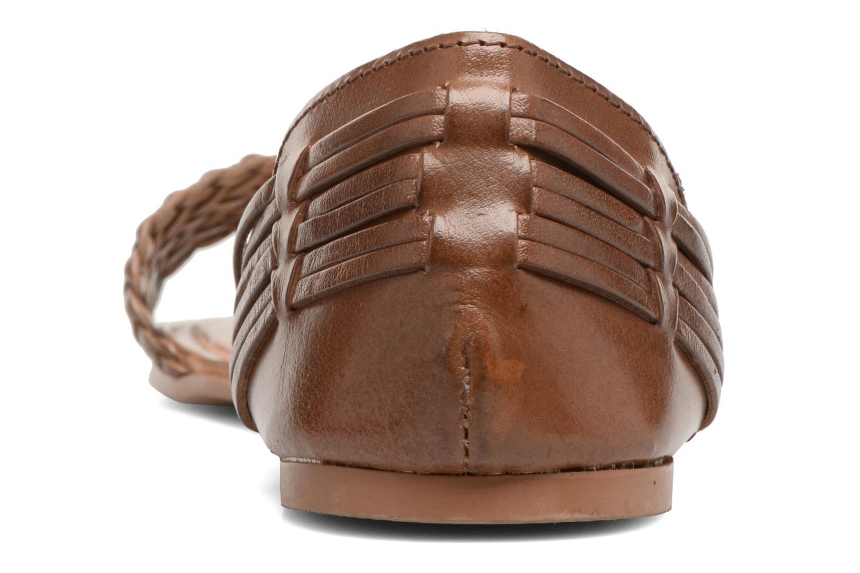 Sandalen I Love Shoes Kerina Leather braun ansicht von rechts