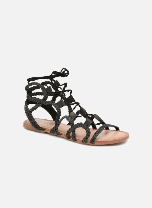 Supergli chez I Leather Love Shoes pieds Noir Sandales nu et SpqRfp