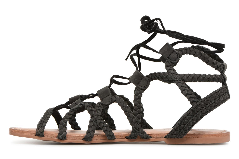 Sandales et nu-pieds I Love Shoes Supergli Leather Noir vue face