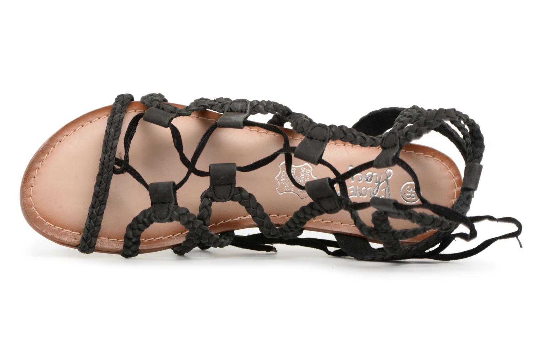 Sandales et nu-pieds I Love Shoes Supergli Leather Noir vue gauche