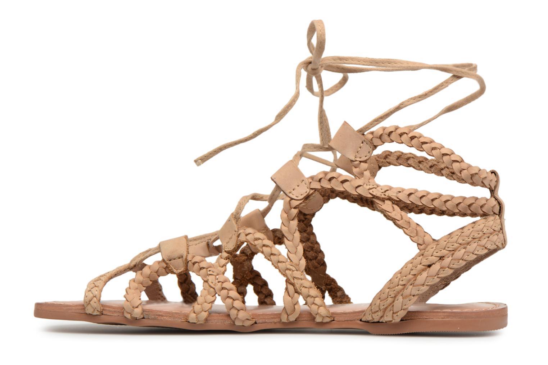 Sandales et nu-pieds I Love Shoes Supergli Leather Marron vue face