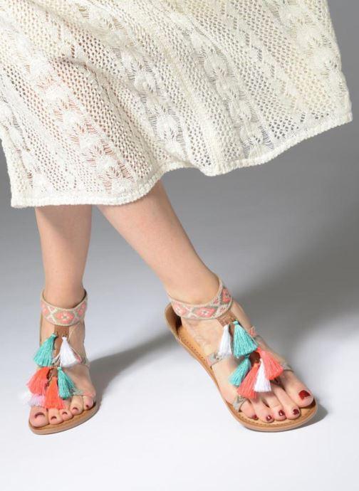 Sandales et nu-pieds I Love Shoes Kebam Leather Multicolore vue bas / vue portée sac