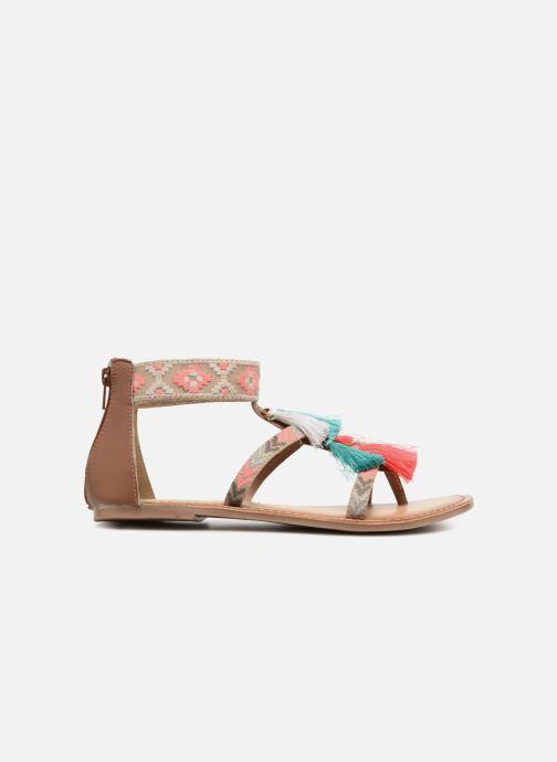 Sandales et nu-pieds I Love Shoes Kebam Leather Multicolore vue derrière