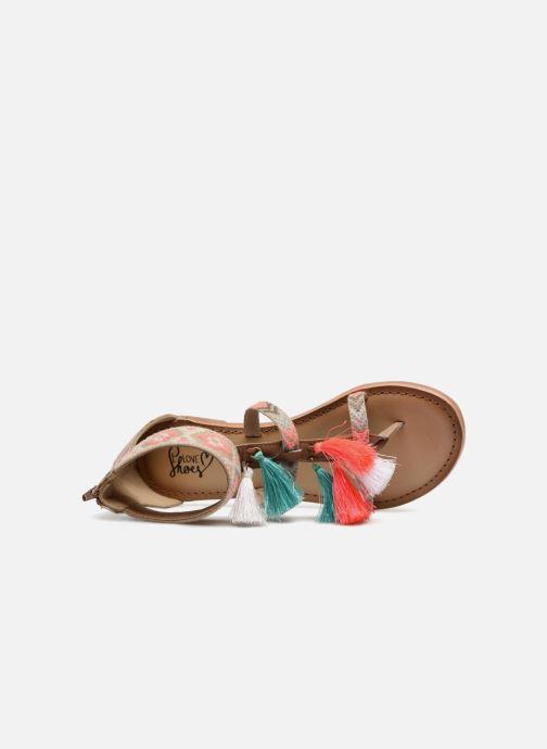 Sandales et nu-pieds I Love Shoes Kebam Leather Multicolore vue gauche