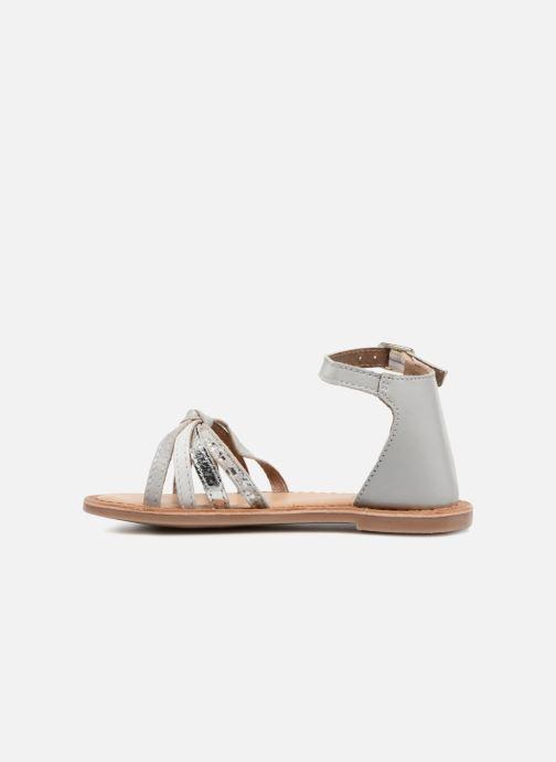 Sandales et nu-pieds I Love Shoes Kechipy Leather Argent vue face