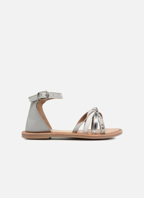Sandals I Love Shoes Kechipy Leather Silver back view