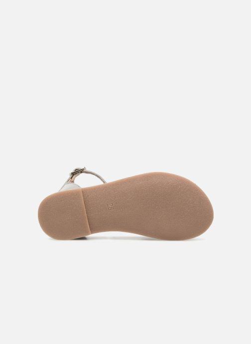 Sandales et nu-pieds I Love Shoes Kechipy Leather Argent vue haut