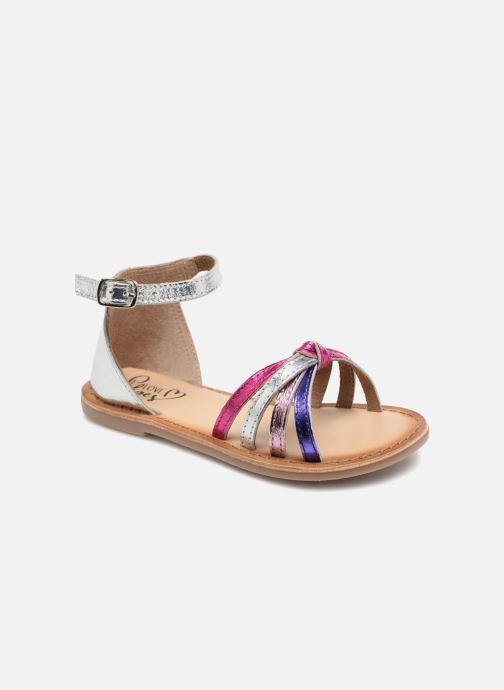 Sandales et nu-pieds I Love Shoes Kechipy Leather Rose vue détail/paire