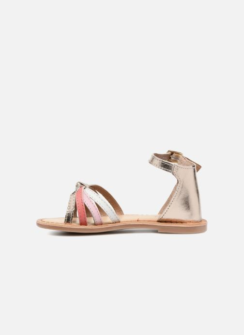 Sandals I Love Shoes Kechipy Leather Pink front view