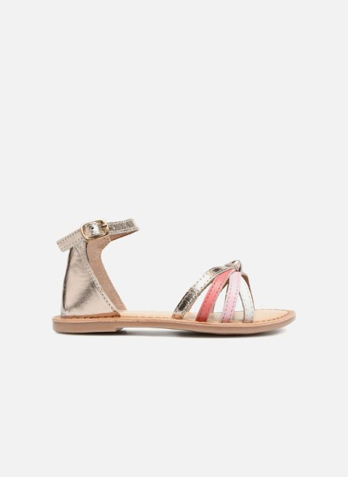 Sandals I Love Shoes Kechipy Leather Pink back view