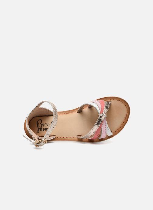 Sandalias I Love Shoes Kechipy Leather Rosa vista lateral izquierda