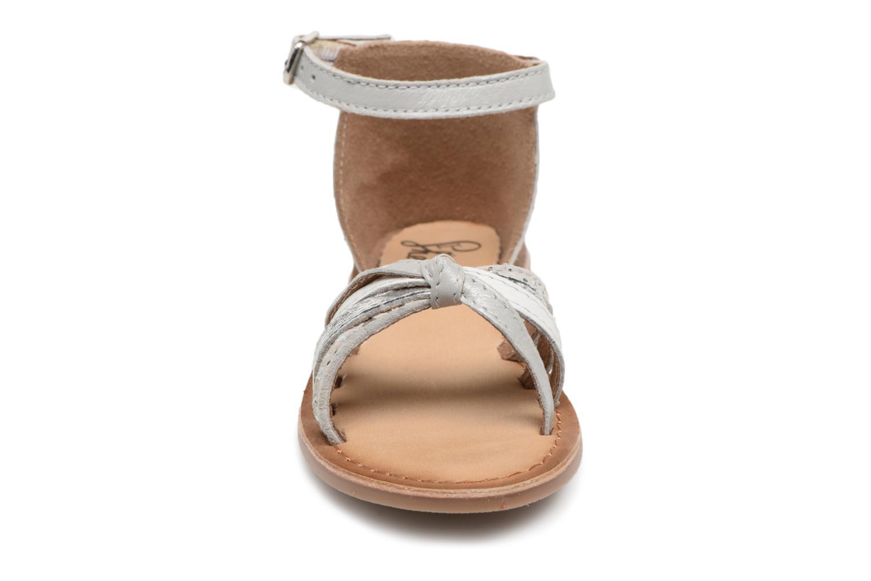 Sandales et nu-pieds I Love Shoes Kechipy Leather Argent vue portées chaussures
