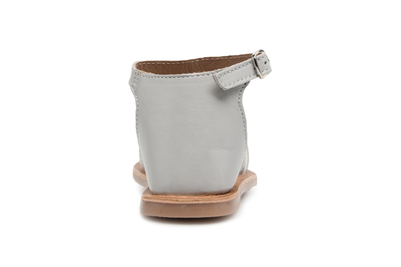 Sandales et nu-pieds I Love Shoes Kechipy Leather Argent vue droite