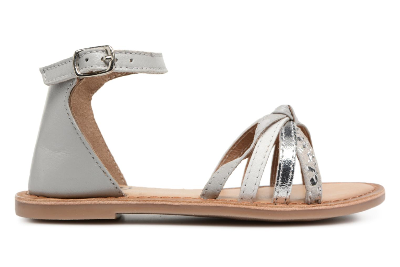 Sandales et nu-pieds I Love Shoes Kechipy Leather Argent vue derrière