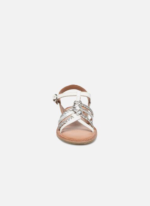 Sandales et nu-pieds I Love Shoes Keliana Leather Blanc vue portées chaussures